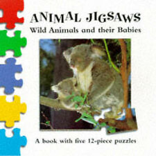 Wild Animals and Their Babies (Animal Jigsaw),GOOD Boo