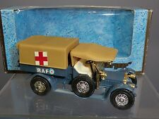 MATCHBOX MODEL OF YESTERYEAR  No.Y-13 CROSSLEY RAF  TENDER  / AMBULANCE  MIB
