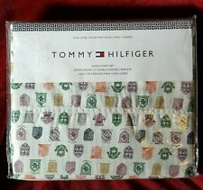 Tommy Hilfiger Heritage Tradition Queen Sheet Set New