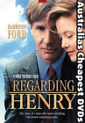 Regarding Henry DVD NEW, FREE POSTAGE WITHIN AUSTRALIA REGION 4