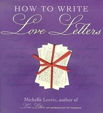 How to Write Love Letters, Lovric, Michelle, New Books
