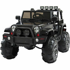 Best Choice Products 12V Ride On Car Truck Remote Control 3 Speed LED Black