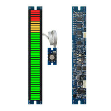 40 seg 117mm LED VU meter module with peak hold audio level display