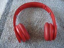 Very Nice Beats by Dr. Dre Solo HD Headband Headphones - Red