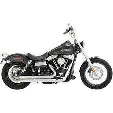 Vance & Hines 17935 Big Shots Staggered Exhaust Harley Dyna 2012-2017