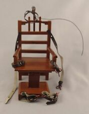Dollhouse Miniature Old Sparky Electric Chair P6630 Town Square 1:12
