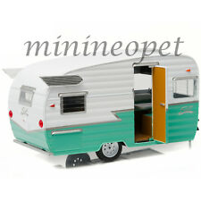 GREENLIGHT 18227 SHASTA 15' AIRFLYTE CAMPER TRAILER 1/24 DIECAST MODEL GREEN