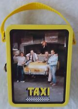 """The Tin Box Company Multi Color Paramount Pictures """"Taxi"""" Small Metal Lunch Box"""