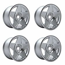 4 x 3SDM 0.05 Silver / Cut Polished Alloy Wheels - 5x100 | 16x8"