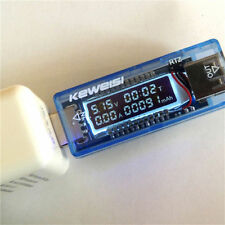 NEW KEWEISI 3V-9V 0-3A USB Charger Power Battery Capacity Tester