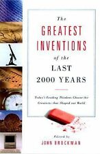 The Greatest Inventions of the Past 2,000 Years, , Good Condition, Book