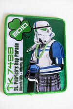 ..::: STAR WARS / St Patrick's Day Parade 2010 Embroided Patch