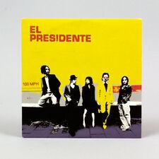 El Presidente - 100 MPH - música cd ep