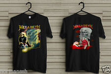 NEW! MEGADETH Vintage Rock Concert Touring 1988 RIP Mary Jane Men's shirt S-2XL