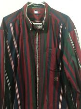 Men's Tommy Hill Finger Extra-Large Casual Button-Down Collar Shirt