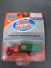 HO '41/46 Chevrolet Stake Bed Truck Texaco Oil - Classic Metal Works #30355
