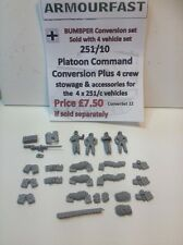 Early War 20mm (1/72) Armourfast German Sd Kfz 251/10 Platoon Command Conversion