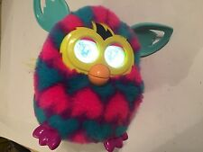 HASBRO FURBY BOOM PINK BLUE HEARTS 2012 TOY SENSOR & LCD EYES SOUNDS INTERACTIVE