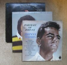 Lot of 3 Johnny Mathis LPs - Potrait of Johhny/When Will I see you/In Person