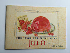 1927 Jello Recipe Booklet Great Illustrations and Recipes
