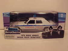 Blues Brothers 1975 Dodge Monaco Chicago Police Diecast Car 1:24 Greenlight 8 in