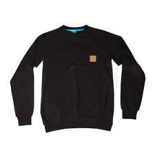 King Apparel Insignia Crewneck Sweater - Black / White Floral - Large [BNWT]