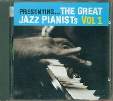 The Great Jazz Pianists Vol. 1 - Scott Joplin/Errol Garner/Nat King Cole Cd Ex