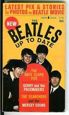 THE BEATLES UP TO DATE, rare US Lancer 1960s music scene pulp vintage pb