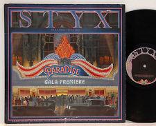Styx       Paradise  Theatre        Laser Vinyl         FOC         NM # U