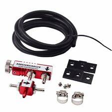 RED ADJUSTABLE RACING TURBO 30PSI MANUAL BOOST BYPASS CONTROLLER KIT