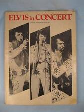 Elvis In Concert Songbook Vintage Piano Voice Guitar Hound Dog Jailhouse Rock O
