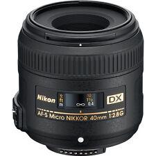 Nikon 40mm f/2.8G AF-S DX Micro-Nikkor Lens 2200 *Brand New*