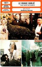 FICHE CINEMA : RIVAGE OUBLIE - C.Scott,Woodward,Harvey 1971 They Might Be Giants