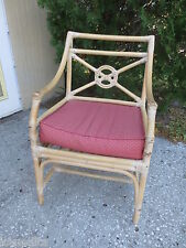 Target Back Bamboo Arm Chair Chinese Chippendale Rattan McGuire STYLE