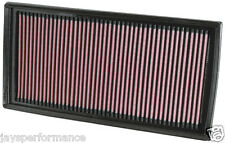 33-2405 x2 K&N SPORTS AIR FILTER TO FIT C63/E63/S63 AMG 6.3i V8
