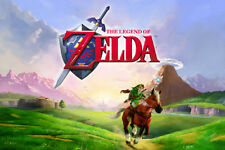 Legend of Zelda single 24x36 poster Sega Genesis Nintendo PlayStation Video Game