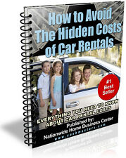 HOW TO AVOID THE HIDDEN COST OF CAR RENTALS PDF EBOOK FREE SHIPPING