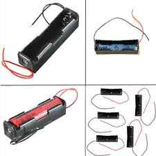 5PCS For 1x 18650 Rechargeable Battery Battery Plastic Holder Storage Box Case