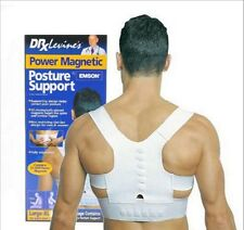 Power Magnetic Adjustable Back Shoulder Support Brace Belt Posture Corrector