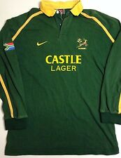 POLO RUGBY NIKE SOUTH AFRICA CASTLE LAGER // TAILLE M