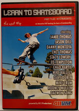 Learn to Skateboard: Part Two - Intermediate (DVD, 2002) 411 Productions - NM!
