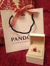 Genuine Disney Pandora Snow White Apple With Disney Box & Bag
