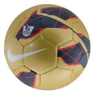 NIKE T90 Total 90 LEAGUE EPL Soccer Ball 2012 NEW Gold/Red/Navy Sz 5