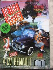 REVUE RETROVISEUR N°13 4CV RENAULT AUSTIN HEALEY DAIMLER ROLLS ROYCE MV 750S