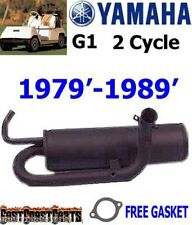 Yamaha G1 Gas Golf Cart Exhaust Muffler for 2 Cycle Models J24-14610