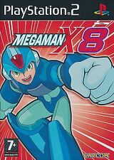 MEGAMAN X8 Pour PAL ps2 (new & sealed)
