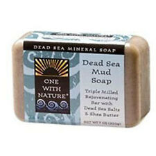 Almond Bar Soap DEAD SEA MUD, 7 OZ by One with Nature