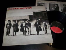 "The Unforgiven ""same"" LP inner Elektra ‎– EKT 34 Germany 1986"
