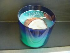 Coconut Vanilla Candle 14.5 oz 3 wick Bath & Body Works Sandalwood
