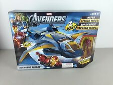 Marvel Avengers Quinjet Attack Vehicle with Iron Man